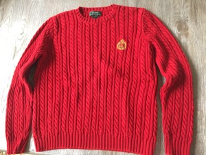 Ralph Lauren 100% Cotton Rl Crest Color! Sweater