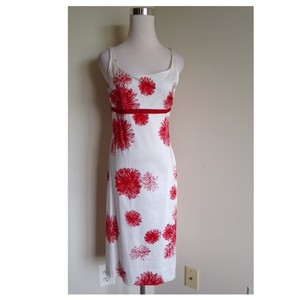 YYigal short dress Red/White Azrouel Sheath Silhouette on Tradesy