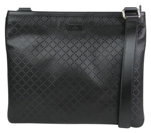 0e22d85ff Gucci Hilary Lux Diamante Black Messenger Bag