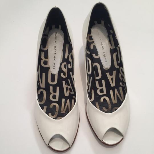 Marc by Marc Jacobs White Pumps