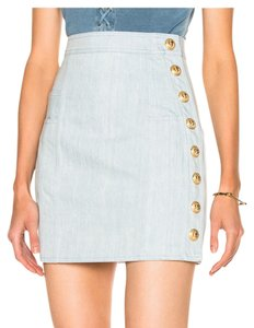 Balmain Mini Skirt jean