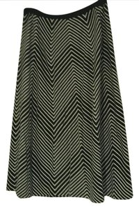 Anne Klein Skirt Black/White