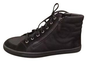 Chanel Sneaker Trainer Cc Hi-top Black Athletic