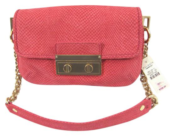 Preload https://img-static.tradesy.com/item/21165311/talbots-new-snake-print-genuine-purse-pink-leather-baguette-0-1-540-540.jpg