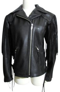 Harley Davidson Leather Motorcycle Jacket Limited Edition Collectible Raincoat