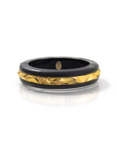 Alexis Bittar Alexis Bittar Lucite and Goldtone Bangle