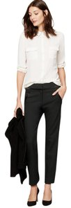 Ann Taylor LOFT Straight Pants black