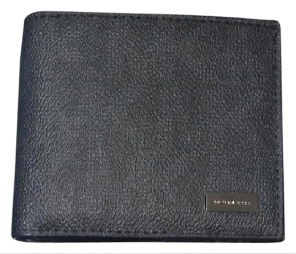 1375247cfc07 Michael Kors MICHAEL KORS MEN S JET SET Logo Black BILLFOLD WALLET Image 0  ...