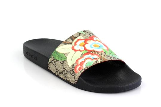 687956c49 Gucci Guccissima Butterfly Pursuit Pool Slide Sandals Size US 9 ...