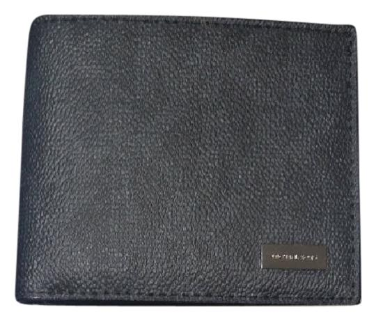 Preload https://img-static.tradesy.com/item/21165782/michael-kors-black-blue-pvc-men-s-jet-set-billfold-wallet-0-1-540-540.jpg