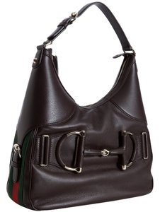 Gucci Pebbled Leather Hobo Bag