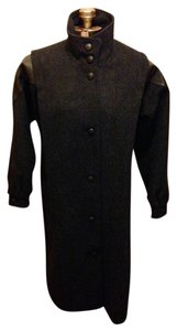 Maggie Lawrence Collection Vintage 80's 90's Buttons Wool Coat