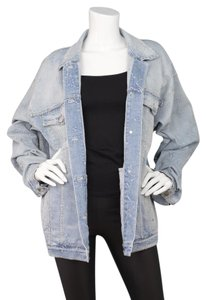 Stella McCartney Denim Denim Star blue Womens Jean Jacket