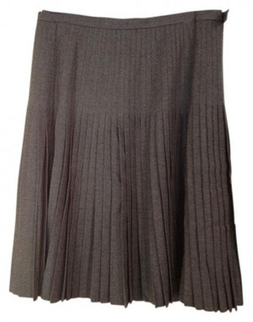 Preload https://item2.tradesy.com/images/brooks-brothers-grey-pleated-wool-knee-length-skirt-size-16-xl-plus-0x-21166-0-0.jpg?width=400&height=650
