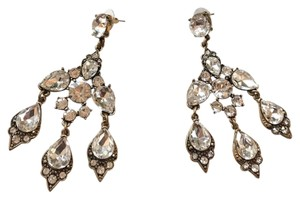 beautiful chandelier long evening earrings $78 long chandelier crystal earrings