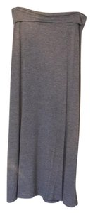 Other Maxi Skirt heather grey