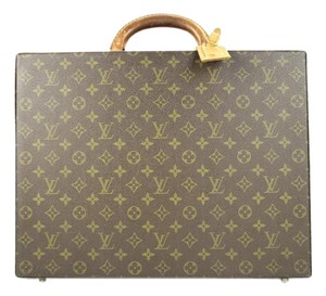 Louis Vuitton Attache President Bisten Trunk Briefcase Laptop Bag