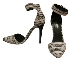 Call It Spring Yadoven Heels Black and White Pumps