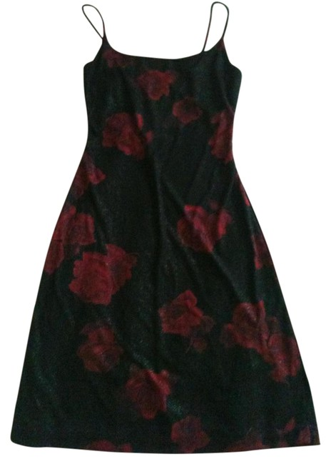 La Belle Little Roses Sparkles Spaghetti-strap Dress