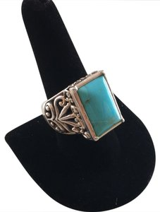 Studio Barse Sterling Silver and Turquoise Ring