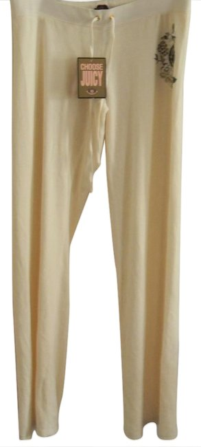 Preload https://img-static.tradesy.com/item/21166387/juicy-couture-ivory-graphic-signatute-velour-lounge-athletic-shorts-size-12-l-32-33-0-1-650-650.jpg