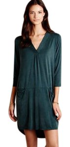 Anthropologie Tunic Green Dolan Left Coast Dress