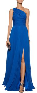 Halston One Chiffon Gown Formal Evening Dress