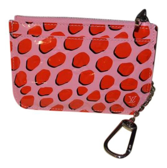 Preload https://img-static.tradesy.com/item/21166509/louis-vuitton-pink-and-red-rare-limited-edition-jungle-dots-vernus-key-pouch-cles-wallet-0-1-540-540.jpg