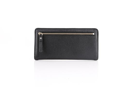 Kate Spade * Mulberry Street Large Stacy Pebbled Leather Wallet