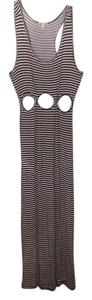 black and white Maxi Dress by Later 8
