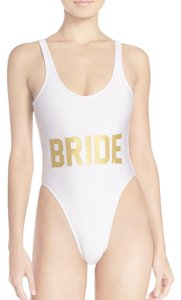 PRIVATE PARTY Brand New, Never Worn, Private Party BRIDE One Piece Swimsuit