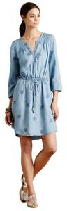 Anthropologie short dress denim Holding on Tradesy
