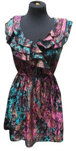 BeBop short dress multi colored on Tradesy