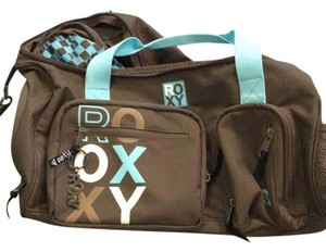 Roxy brown with light blue Travel Bag