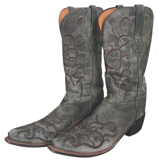 Preload https://img-static.tradesy.com/item/21166722/lucchese-sea-green-ladies-m5037s54-madras-mad-dog-hand-stitched-bootsbooties-size-us-11-regular-m-b-0-1-540-540.jpg