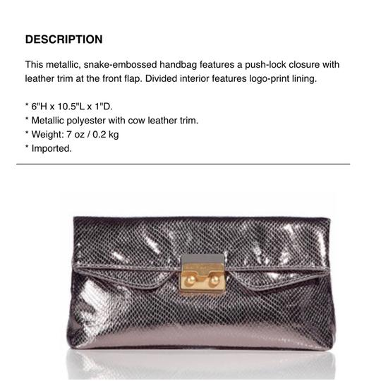 Marc by Marc Jacobs silver Clutch