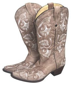 Corral Boots Tan Boots