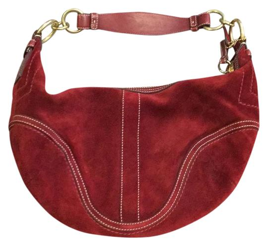 Preload https://img-static.tradesy.com/item/21166813/coach-red-suade-hobo-bag-0-1-540-540.jpg