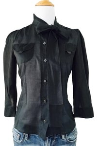 Prada Top Charcoal Grey