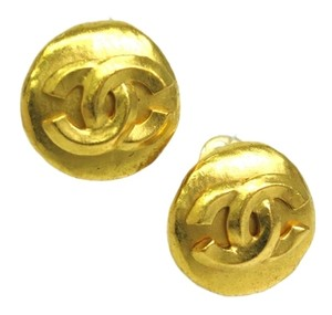 Chanel Chanel Coco Mark Earring Metal