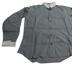 Dior Button Down Shirt Grey