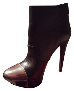 Jessica Simpson Leather BLACK Boots