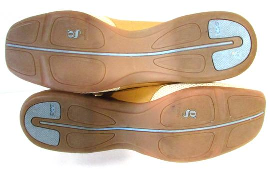 G Series Leather Walking Casual Loafers Tan Flats