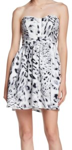 Parker short dress White And Black on Tradesy