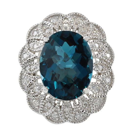 Preload https://img-static.tradesy.com/item/21167047/london-blue-1145-carat-natural-topaz-14k-white-gold-diamond-ring-0-0-540-540.jpg