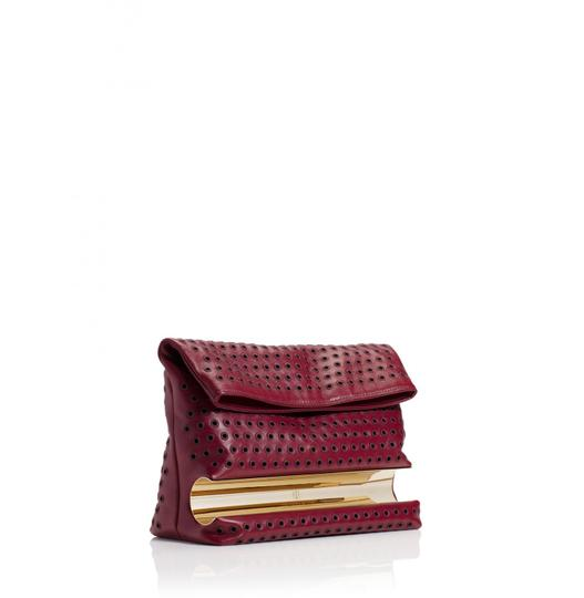 Preload https://img-static.tradesy.com/item/21167064/tamara-mellon-grommet-dazzle-red-leather-clutch-0-0-540-540.jpg