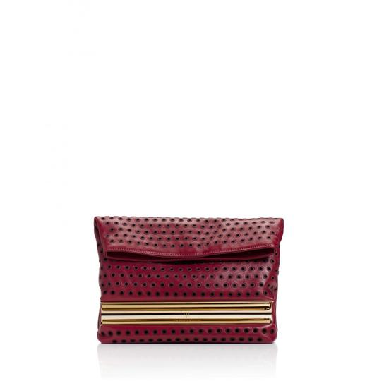 Tamara Mellon Red Clutch