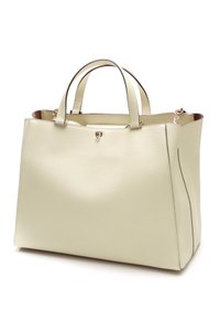 Valextra Tote in Ivory (Off-white)