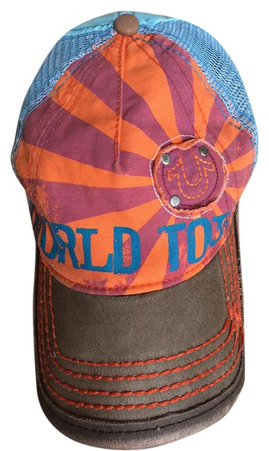 Item - Orange/Blue World Tour Hat