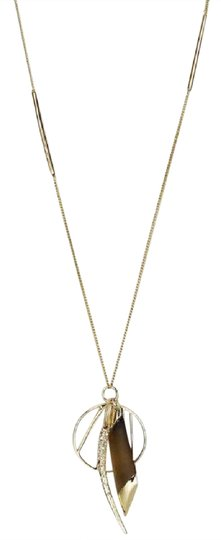 Preload https://img-static.tradesy.com/item/21167138/alexis-bittar-gold-lucite-crystal-encrusted-pendant-necklace-0-1-540-540.jpg